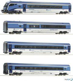 4-teiliges Set RailJet CD