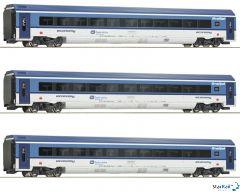 3-teiliges Set: RailJet CD