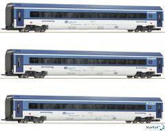 3-teiliges Set RailJet CD mit Innenbeleuchtung
