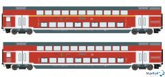 2-teiliges Set DB AG Doppelstockwagen