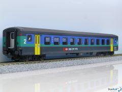 Schnellzugwagen SBB EW II 2. Klasse