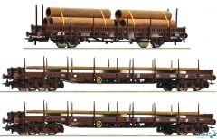 3-teiliges Set ÖBB Stahlzug