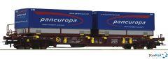 Taschenwagen T3 der AAE mit Wechselpritschen paneuropa