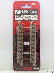 R001 Gerades Gleis 110 mm 4 Stück