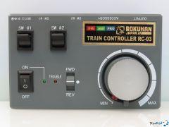 RC-03 Fahrregler mit Konstantbelechtungsfunktion und 2 Weichenschalter