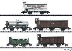 """5-teiliges Set Güterwagen """"Pfalz"""""""