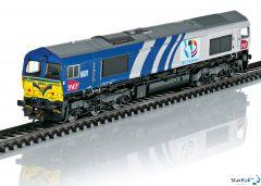 Diesellokomotive Class 66 SNCF Fret Benelux Digital Sound Rauch