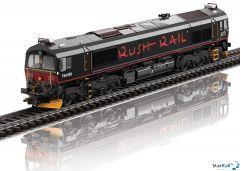 Diesellokomotive Class 66 Rush Rail Digital Sound Rauch