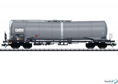 Kesselwagen Zans der ŽSSK mit Werbung GATX