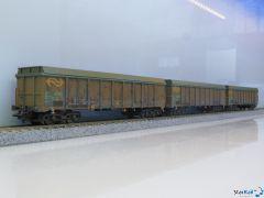 "Hochbordwagen-Set ""Holzhackschnitzeltransport"""