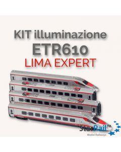 Platine mit LED Innenbeleuchtung passend zum Grundset ETR 610 von LIMA EXPERT