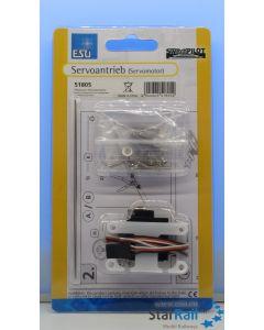 Präzisions-Miniaturservo mit Messinggetriebe