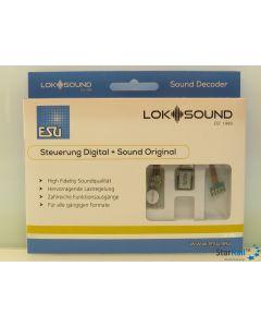 LokSound 5 micro 8-pin NEM 652 mit Lautsprecher