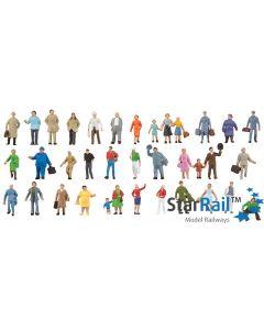 Ergänzungs-Set mit 36 Figuren