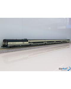 6-teiliges Grundset Trenhotel Talgo der RENFE