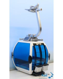 Gondel Omega IV weiss/blau