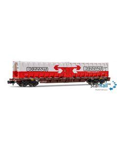 FS vierachsiger Containerwagen