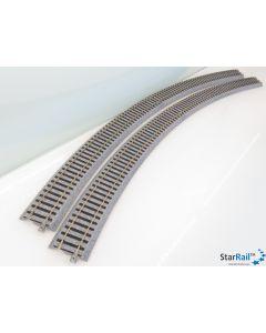 2-250 Gebogenes Gleis R790-22.5°