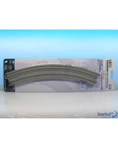 20-185 Gleis gebogen zweigleisig R480/447-45° 2 Stück