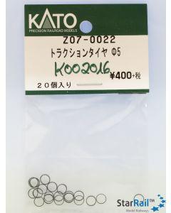 Z07-0022 Haftreifen Ø 5mm 20 Stück