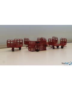 Set Gepäckwagen PTT