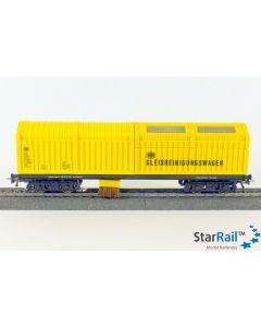 Gleisstaubsaugerwagen für Zweileitersystem