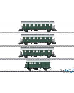 Personenwagen-Set mit Steuerwagen