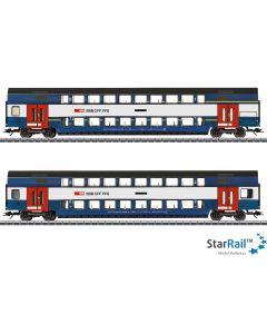 """Doppelstockwagen-Set """"Züricher S-Bahn"""""""