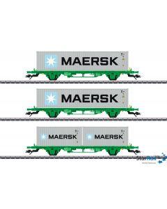Containertragwagen-Set Lgns