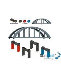 Set Hochbahn-Brücke