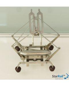 Stromabnehmer asymmetrisch mit vier Schleifleisten