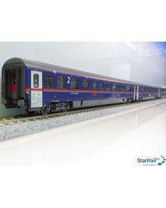 8-teiliges Set Set NightJet Innsbruck/Wien-Brüssel NJ 424/NJ 490 (2020)