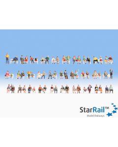 Mega-Spar-Set Sitzende Figuren