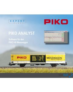 "Software für PIKO H0 Messwagen (CD-ROM) ""PIKO Analyst"""