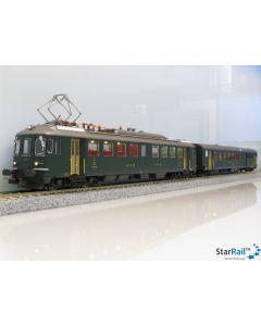 Set SBB RBe 4/4 1403 Triebwagen und BDt 918-2 Steuerwagen