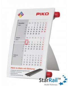 PIKO Tischkalender 2021/2022