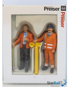Gleisbauarbeiter