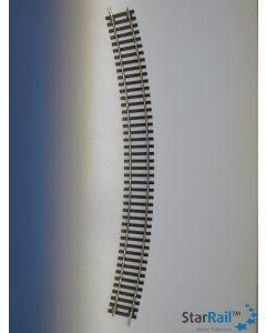 Gebogenes Gleis R6 30°