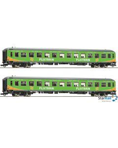 2-teiliges Set Personenwagen Flixtrain