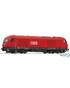 Diesellokomotive ÖBB 2016 080-1 mit Sound