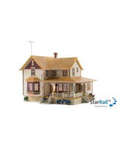 Haus mit Eckveranda