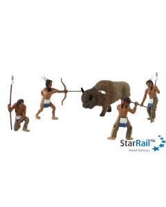 SCENE-A-RAMA Native American Hunt Scene Setters®